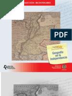 Escritos sobre geografía en la época de la Independencia