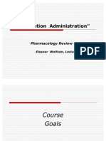 Pharmacology Medication Administration, Eleanor Wolfram - Feb 2011