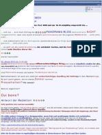 Medien Blamage T.3 - 27.01. Panorama-Blog -  Die blanke Realität