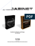 Recabinet 2.0 Manual