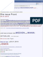 Medien Blamage T.1 - 25.01.  JEMEN - Heute ziehen die Mainstreammedien nach