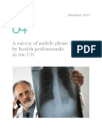 survey-mobile-phone-use-health-professionals-UK