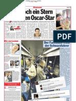 Doch ein Stern für unseren Oscar-Star