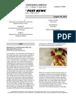 Kentucky Pest News August 30, 2011