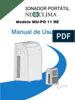 Manual Mobil MUPR11
