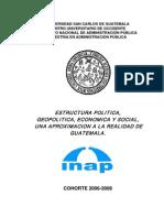Estructura Política de Guatemala