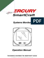 Mercury SmartCraft Operations Manual | Fahrenheit | Computer