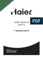 User Manual HLT71