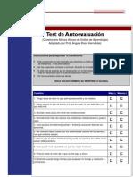 Test Autoevaluacion