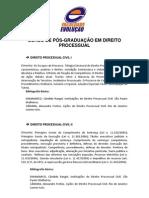 Ementas Processo Civil