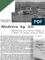 Flight 21-04-1949 - Madeira by Air