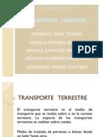 Transporte Terrestre Diapositivas 2 (Expo)