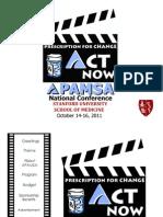 2011 APAMSA National Conference Sponsorship Packet