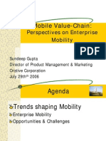 Mobile value-chain by Sundeep Gupta