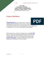 Chapter 2 - Organizing Data
