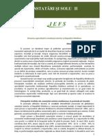 Dinamica Specializarii Comertului Exterior
