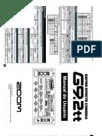 Manual Zoom g9