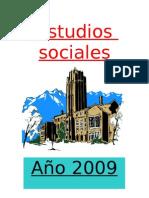 Ciencias sociales 2009
