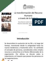 1. La transformación del Recurso Humano