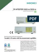 LCR Hi Tester 3522-50