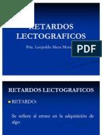 RETARDOS LECTOGRAFICOS