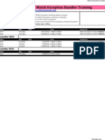 UCSF BearBuy Match Exception Training Schedule September - December 2011v3