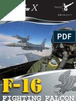Manual F-16 Fighting Falcon Spanish
