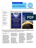 Foundation 2008 June Newsletter PORTUGUESE