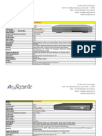 Standalone DVR Specifications 2011