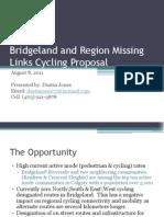 Bridgeland and Region Missing Links Cycling Proposal