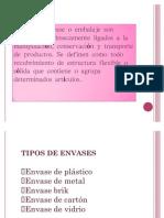 Diapositivas de Angelica Clases de Embalaje Etc