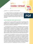 Tecnología de impresión virtual - qué es y quién la inventó