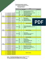 Mitb Course Calendar Ay2011-12 to Ay2012-13 - Mitb-ssa