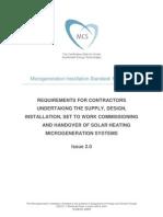 Solar Water Mis 3001 Issue 2.0 Solar Heating 2010.08.26