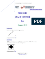 Contest Aug2011