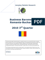 Business Barometer Romania 2010-III