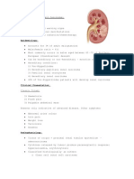 Summary of Renal Cell Carcinoma