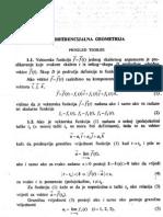 Diferencijalna Geometrija (Zbirka Rjesenih Zadataka Problemi)