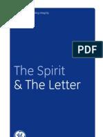 GE Spirit Letter R10822