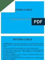 Clase 1 - Historia Clinica
