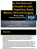 Escaping the Middle Income Trap – What can Asia Learn from Latin America (Presentation)