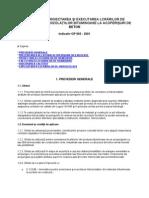 GP 065-2001 a Hidroizolatiilor Bituminoase La Acop Din Beton