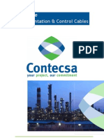 Instrumentation & Control Cables Catalogue CONTECSA Rev0 011209
