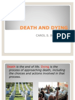 Death and Dying Concept