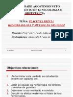 HEMORRAGIAS DA 2 METADE DA GRAVIDEZ - Cópia (2) - Cópia - Cópia