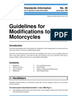 Motor Cycle Standards