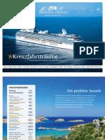 Princess Cruises Katalog 2012-2013 (Deutschland / DE)