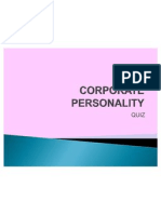 Corporate Personality