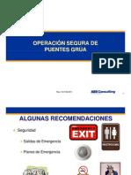 Operacion Segura de Puentes Grúa