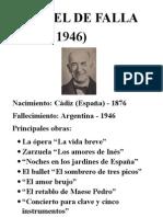 Manuel de Falla Aula
